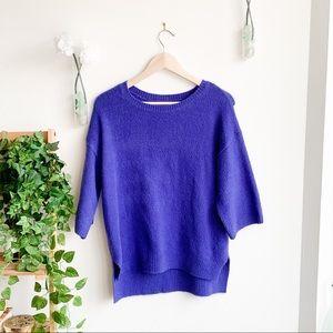 New Look Tall Cobalt Chunky Sweater
